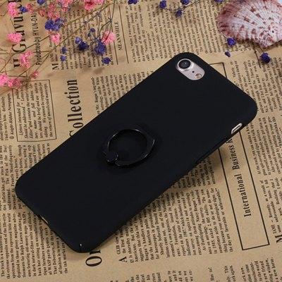 Luanke Matte Protective Back Cover Case Ring Holder for iPhone 7