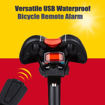 Remote Control Bicycle Alarm