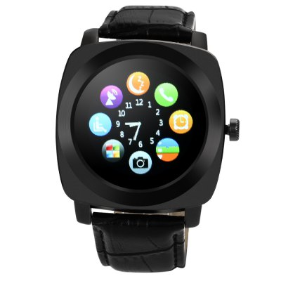 Aiwatch Y6 Smartwatch PhoneSmart Watch Phone<br>Aiwatch Y6 Smartwatch Phone<br><br>Brand: AiWatch<br>Type: Watch Phone<br>CPU: MTK6261<br>RAM: 32MB<br>ROM: 32MB<br>External Memory: TF card up to 32GB (not included)<br>Compatible OS: Android<br>Wireless Connectivity: Bluetooth,GSM<br>Network type: GSM<br>Frequency: GSM850/900/1800/1900MHz<br>Bluetooth: Yes<br>Bluetooth version: V3.0<br>Screen type: Capacitive<br>Screen size: 1.33 inch<br>Screen resolution: 240 x 240<br>Camera type: Single camera<br>Front camera: 0.08MP<br>SIM Card Slot: Single SIM(Micro SIM slot)<br>TF card slot: Yes<br>Speaker: Supported<br>Picture format: JPEG<br>Music format: MP3<br>Languages: English, German, French, Spanish, Portugese, Turkish, Russian, Italian<br>Additional Features: 2G,Bluetooth,MP3,Notification,People,Sound Recorder<br>Functions: Pedometer,Remote Camera,Sedentary reminder,Sleep monitoring<br>Cell Phone: 1<br>Battery: 1 x 380mAh<br>USB Cable: 1<br>User Manual: 1<br>Product size: 4.60 x 4.50 x 1.30 cm / 1.81 x 1.77 x 0.51 inches<br>Package size: 11.00 x 11.00 x 9.00 cm / 4.33 x 4.33 x 3.54 inches<br>Product weight: 0.057 kg<br>Package weight: 0.234 kg