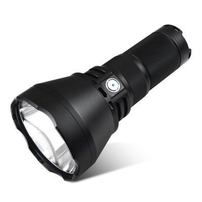 ThruNite TN42 LED Camping FlashlightLED Flashlights<br>ThruNite TN42 LED Camping Flashlight<br><br>Battery Quantity: 4 (not included)<br>Battery Type: 18650<br>Beam Distance: &gt;1000m<br>Body Material: Aircraft-grade Aluminum T6061<br>Brand: ThruNite<br>Color Temperature: 6000K / 5000K<br>Emitters: Cree XHP35 HI<br>Emitters Quantity: 1<br>Feature: Cooling Slot of High Efficiency, Reverse Polarity Protection<br>Flashlight Processing Technology: Aerospace Grade Aluminum Body with Anti Scratching Type III Hard Anodization<br>Function: Camping<br>Impact Resistance: 1M<br>Lens: Toughened Ultra-clear Double Glass Lens with Anti-reflective Coating<br>Lumens Range: &gt;1000Lumens<br>Luminous Flux: 2000LM<br>Luminous Intensity: 600750cd<br>Max.: 58 days<br>Mode: 6 (Turbo - High - Mid - Low - Eco - Strobe)<br>Mode Memory: Yes<br>Model: TN42<br>Package Contents: 1 x ThruNite TN42 LED Flashlight, 1 x Strap Ring, 1 x Shoulder Strap, 2 x Spare O-ring, 1 x Side Switch Cover, 1 x Battery Carrier<br>Package size (L x W x H): 25.00 x 15.00 x 10.00 cm / 9.84 x 5.91 x 3.94 inches<br>Package weight: 0.9540 kg<br>Power Source: Battery<br>Product size (L x W x H): 20.60 x 10.00 x 10.00 cm / 8.11 x 3.94 x 3.94 inches<br>Product weight: 0.6660 kg<br>Reflector: Aluminum Smooth Reflector<br>Waterproof Standard: IPX-8 Standard Waterproof (Underwater 2m)<br>Working Voltage: 5.5-8.4V