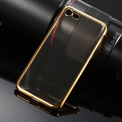 Luanke TPU Soft Protective Back Case for iPhone 7iPhone Cases/Covers<br>Luanke TPU Soft Protective Back Case for iPhone 7<br><br>Brand: Luanke<br>Color: Gold<br>Compatible for Apple: iPhone 7<br>Features: Anti-knock, Back Cover<br>Material: TPU<br>Package Contents: 1 x Case<br>Package size (L x W x H): 21.00 x 10.50 x 2.50 cm / 8.27 x 4.13 x 0.98 inches<br>Package weight: 0.065 kg<br>Product size (L x W x H): 14.00 x 7.00 x 0.80 cm / 5.51 x 2.76 x 0.31 inches<br>Product weight: 0.014 kg<br>Style: Cool, Modern