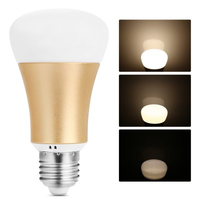 E27 Battery-free Wireless Dimming Bulb KitSmart Lighting<br>E27 Battery-free Wireless Dimming Bulb Kit<br><br>Holder: E27<br>Output Power: 8W<br>Voltage (V): AC 100-240V<br>Luminous Flux: 600LM<br>Available Light Color: White<br>Features: Dimming,Remote Control<br>Function: Commercial Lighting,Home Lighting,Studio and Exhibition Lighting<br>Body Color: Golden,Silver<br>Lifespan: 2500h<br>Sheathing Material: Aluminum Alloy,Plastic<br>Product weight: 0.104 kg<br>Package weight: 0.264 kg<br>Product size (L x W x H): 11.00 x 6.00 x 6.00 cm / 4.33 x 2.36 x 2.36 inches<br>Package size (L x W x H): 13.50 x 9.50 x 7.00 cm / 5.31 x 3.74 x 2.76 inches<br>Package Contents: 1 x LED Bulb, 1 x Controller, 1 x Lanyard, 1 x Sticker, 2 x English Manual
