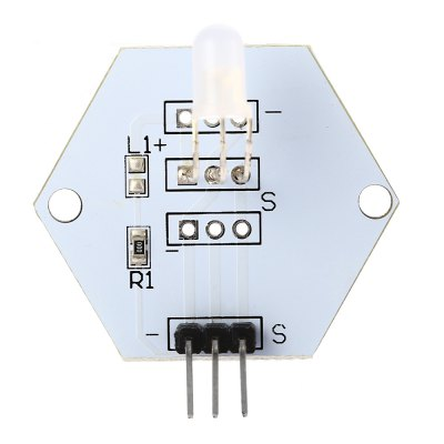 LDTR - 0011 5mm RGB LED ModuleLCD,LED Display Module<br>LDTR - 0011 5mm RGB LED Module<br><br>Model: LDTR - 0011<br>Package Contents: 1 x LDTR - 0011 RGB LED Module for Arduino<br>Package Size(L x W x H): 7.00 x 5.00 x 3.00 cm / 2.76 x 1.97 x 1.18 inches<br>Package weight: 0.010 kg<br>Product Size(L x W x H): 3.80 x 3.50 x 1.40 cm / 1.5 x 1.38 x 0.55 inches<br>Product weight: 0.003 kg<br>Screen type: LED<br>Type: LED Common Cathode Module