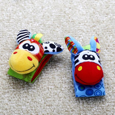 Baby Doll Rattle Wristband
