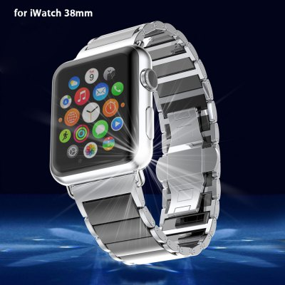 Ceramic Solid Links Watchband for Apple Watch 38mm
