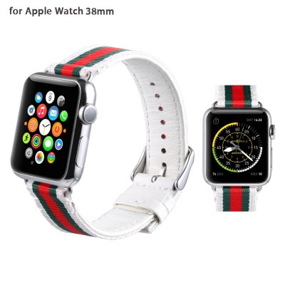 Leisure PU Leather Watchband for Apple Watch 38mm