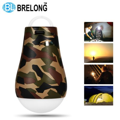 BRELONG Portable LED Camping Light Bulb External Power Bank Function