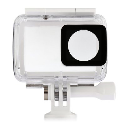 Original YI Waterproof Case for YI / YI II 4K+ Action CameraAction Cameras &amp; Sport DV Accessories<br>Original YI Waterproof Case for YI / YI II 4K+ Action Camera<br><br>Accessory type: Protective Cases/Housing<br>Brand: YI<br>IPXX Rating: IP68<br>Material: Plastic<br>Package Contents: 1 x Waterproof Housing for YI II 4K+ Action Camera<br>Package size (L x W x H): 13.80 x 11.80 x 4.50 cm / 5.43 x 4.65 x 1.77 inches<br>Package weight: 0.4000 kg<br>Product size (L x W x H): 7.70 x 3.70 x 8.70 cm / 3.03 x 1.46 x 3.43 inches<br>Product weight: 0.1000 kg<br>Waterproof: Yes