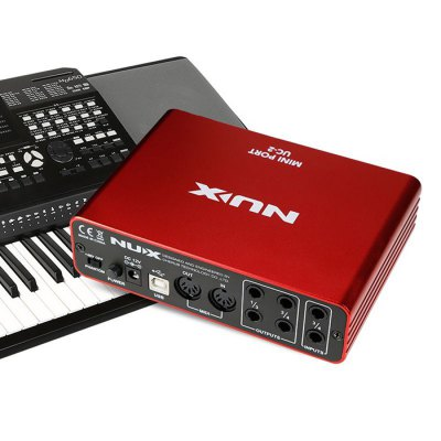NUX UC - 2 Mini Port USB Audio Interface