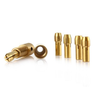 QST - 7 7PCS Micro Brass Drill Chuck for Electric Grinding