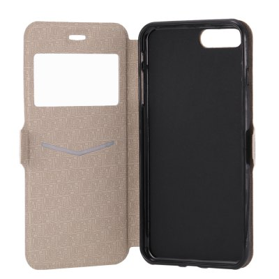 Luanke PU Leather Full Body Cover Case for iPhone 7 Plus