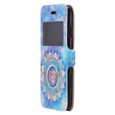 Luanke PU Leather Full Body Phone Cover Case for iPhone 7