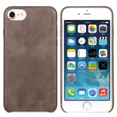 Luanke PU Leather Protective Phone Back Case for iPhone 7