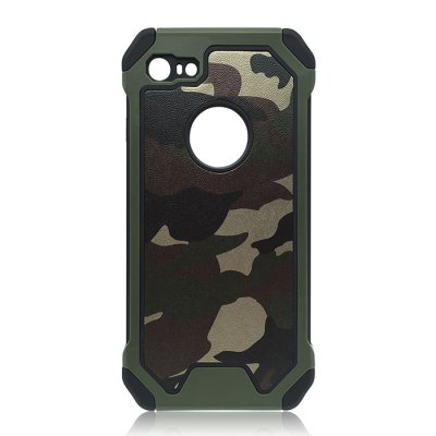 Luanke Camouflage Style Phone Back Cover Case for iPhone 7