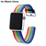 Colorful Design Nylon Watchband for Apple Watch 42mm
