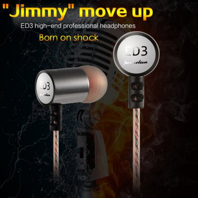 KZ-ED3 3.5mm In-Ear HiFi Earphone Wire Headphone Earplugs DJ Dance Headset