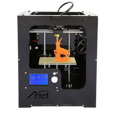 Anet A3 High Precision Full Acrylic Frame Assembled 3D Printer