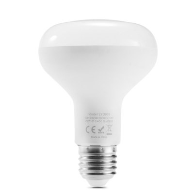 Lumiere LYD003 LED Bluetooth BulbSmart Lighting<br>Lumiere LYD003 LED Bluetooth Bulb<br><br>Brand: Lumiere<br>Holder: E27<br>Output Power: 13W<br>Voltage (V): AC 100-240V<br>Luminous Flux: 1100LM<br>Available Light Color: RGBW<br>Features: APP Control,Bluetooth 4.0,Dimming,Easy to use,Energy Saving,Long Life Expectancy<br>Function: Commercial Lighting,Home Lighting,Studio and Exhibition Lighting<br>Body Color: White<br>Product weight: 0.221 kg<br>Package weight: 0.283 kg<br>Product size (L x W x H): 11.00 x 7.50 x 7.50 cm / 4.33 x 2.95 x 2.95 inches<br>Package size (L x W x H): 13.00 x 9.00 x 9.00 cm / 5.12 x 3.54 x 3.54 inches<br>Package Contents: 1 x Lumiere LYD003 LED Smart Bulb, 1 x English Manual