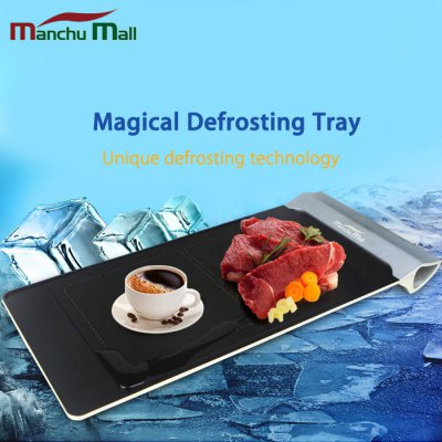 Manchu Mall Household Magical Defrosting Tray Fast Thawing Plate
