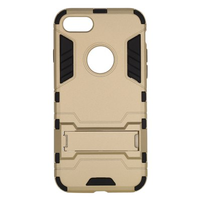 Armour Pattern Protective Phone Back Case for iPhone 7