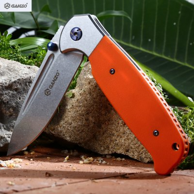 Ganzo G7522 - OR Foldable Knife