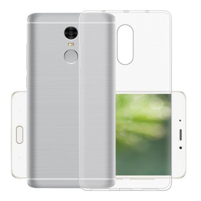 Transparent TPU Soft Case for Xiaomi Redmi Note 4