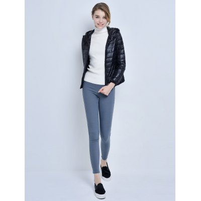 Hooded Short Down Jacket for WomenJackets &amp; Coats<br>Hooded Short Down Jacket for Women<br><br>Closure Type: Zipper<br>Clothes Type: Down &amp; Parkas<br>Collar: Hooded<br>Colors: Black,Purple,Rose Red,Tiffany Blue<br>Embellishment: Others<br>Filling: White Duck Down<br>Materials: Cotton<br>Package Content: 1 x Women Down Jacket<br>Package Dimension: 40.00 x 30.00 x 25.00 cm / 15.75 x 11.81 x 9.84 inches<br>Package weight: 0.350 kg<br>Pattern Type: Others<br>Product weight: 0.300 kg<br>Seasons: Autumn,Winter<br>Shirt Length: Regular<br>Size1: 2XL,L,M,S,XL<br>Sleeve Length: Full<br>Style: Fashion<br>Thickness: Medium thickness<br>Type: Slim