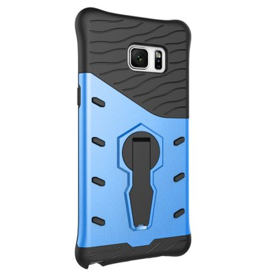 Silicone Protective Back Cover Case for Samsung Galaxy Note 7Samsung Cases/Covers<br>Silicone Protective Back Cover Case for Samsung Galaxy Note 7<br><br>Color: Blue,Silver<br>Compatible for Samsung: Samsung Galaxy Note 7<br>Features: Anti-knock, Back Cover, Cases with Stand<br>Material: PC, Silicone<br>Package Contents: 1 x Case<br>Package size (L x W x H): 20.00 x 11.00 x 2.00 cm / 7.87 x 4.33 x 0.79 inches<br>Package weight: 0.074 kg<br>Product size (L x W x H): 16.00 x 8.20 x 1.00 cm / 6.3 x 3.23 x 0.39 inches<br>Product weight: 0.040 kg<br>Style: Cool, Modern