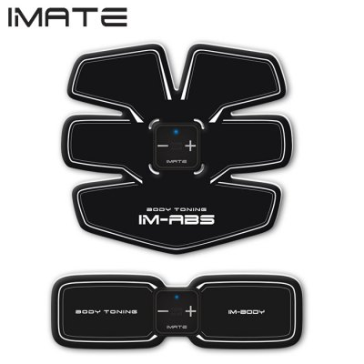 IMATE IM - 05 Muscle Training Gear Abs Fit Body SculptingExercise Equipments<br>IMATE IM - 05 Muscle Training Gear Abs Fit Body Sculpting<br><br>Package Contents: 2 x Host, 3 x Paster, 1 x Chinese User Manual, 1 x Storage Bag, 2 x USB Cable<br>Package size (L x W x H): 32.30 x 24.60 x 3.50 cm / 12.72 x 9.69 x 1.38 inches<br>Package weight: 0.397 kg<br>Product size (L x W x H): 18.60 x 16.70 x 0.10 cm / 7.32 x 6.57 x 0.04 inches