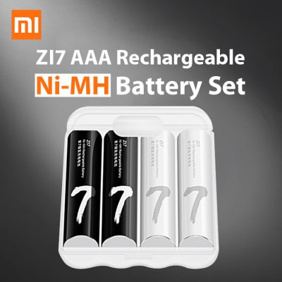 4pcs Xiaomi ZI7 AAA 700mAh 1.2V Rechargeable Ni-MH Battery