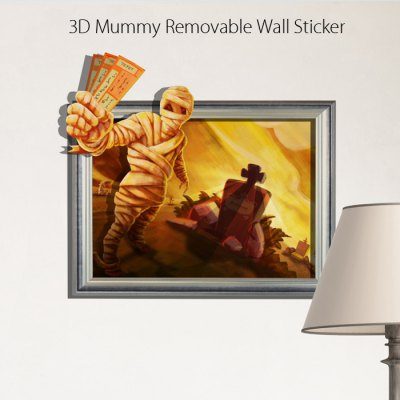 Mummy Removable 3D Wall Decals