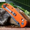 Ganzo G7533 - OR Pocket Knife with Safety Lock deal