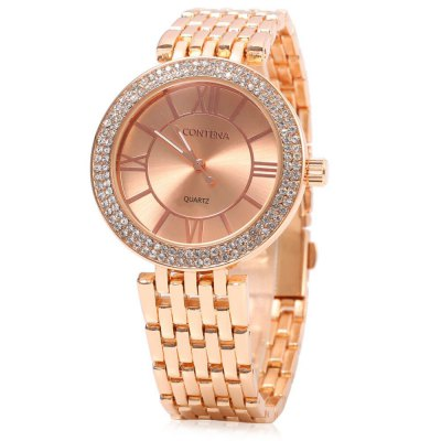contena GENEVA Business Style 10m Waterproof Lady Quartz WatchWomens Watches<br>contena GENEVA Business Style 10m Waterproof Lady Quartz Watch<br><br>Band material: Stainless Steel<br>Band size: 20 x 1.8 cm / 7.87 x 0.71 inches<br>Brand: Contena Geneva<br>Case material: Stainless Steel<br>Clasp type: Folding clasp with safety<br>Dial size: 3.8 x 3.8 x 1 cm / 1.5 x 1.5 x 0.39 inches<br>Display type: Analog<br>Movement type: Quartz watch<br>Package Contents: 1 x contena GENEVA Business Style Lady Quartz Watch<br>Package size (L x W x H): 21.00 x 4.80 x 2.00 cm / 8.27 x 1.89 x 0.79 inches<br>Package weight: 0.120 kg<br>Product size (L x W x H): 20.00 x 3.80 x 1.00 cm / 7.87 x 1.5 x 0.39 inches<br>Product weight: 0.085 kg<br>Shape of the dial: Round<br>Watch color: Gold, Gold + Silver, Rose Gold + Silver, Silver<br>Watch style: Business<br>Watches categories: Female table<br>Water resistance : 10 meters