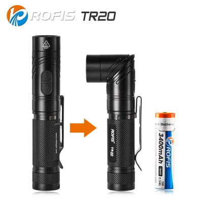 ROFIS TR20 18650 LED Flashlight