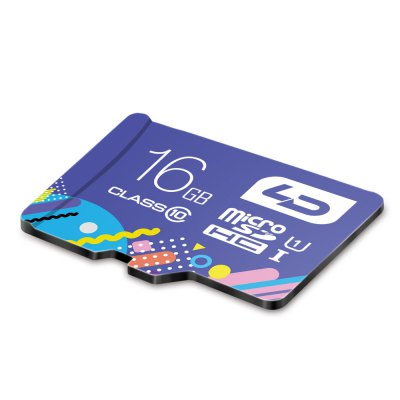 LD Colorful Edition 16GB Micro SDHC Memory Card