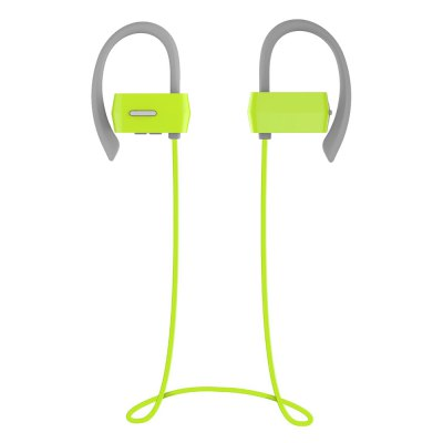 Oldshark G18 Bluetooth 4.1 Ear-hook Sport EarbudsSports &amp; Fitness Headphones<br>Oldshark G18 Bluetooth 4.1 Ear-hook Sport Earbuds<br><br>Brand: Old Shark<br>Model: G18<br>Color: Black,Green,Red<br>Wearing type: Ear Hook<br>Function: Answering Phone,Bluetooth,Microphone,Multi connection function,Noise Cancelling<br>Connectivity : Wireless<br>Connecting interface: Micro USB<br>Application: Mobile phone,Portable Media Player<br>Impedance: 32ohms<br>Talk time: 7h<br>Music Time: 7h<br>Standby time: 160h<br>Charging Time (h): 2h<br>FM frequency range: 2.401-2.480GHz<br>Bluetooth: Yes<br>Bluetooth Version: V4.1<br>Powlev: CLASS II<br>Bluetooth distance: W/O obstacles 10m<br>Bluetooth protocol: A2DP,AVRCP,HFP,HSP<br>Bluetooth mode: Hands free<br>Battery Capacity(mAh): 150mAh<br>Product weight: 0.019 kg<br>Package weight: 0.148 kg<br>Product size (L x W x H): 5.60 x 4.20 x 3.00 cm / 2.2 x 1.65 x 1.18 inches<br>Package size (L x W x H): 12.00 x 9.00 x 4.60 cm / 4.72 x 3.54 x 1.81 inches<br>Package Contents: 1 x G18 Sports Earbuds, 2 x Pair of Ear Plugs, 1 x English User Manual, 1 x USB Cable