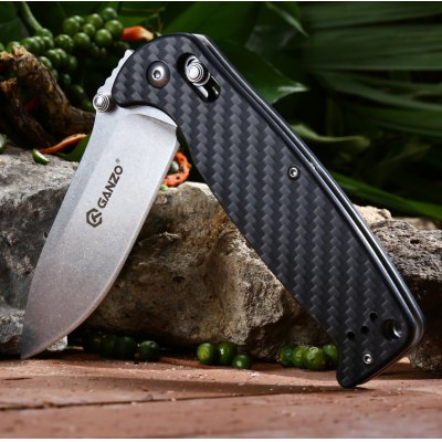 Ganzo G7412 - CF Foldable Knife