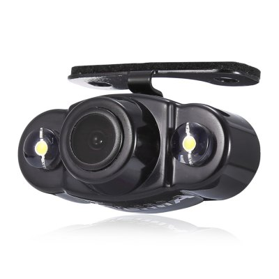 KELIMA CR22 170 Degree Dual LEDs Car Rear View CameraOther Car Gadgets<br>KELIMA CR22 170 Degree Dual LEDs Car Rear View Camera<br><br>Camera Pixels: 648 x 488<br>Lens angle: 170 degree<br>Minimum Illumination: o.1Lux<br>Model: CR22<br>Package Contents: 1 x Car Rearview Camera, 1 x Connection Cable (600cm Approx.), 1 x Power Cable (100cm Approx.), 2 x Screw, 1 x English User Manual<br>Package size (L x W x H): 12.50 x 8.00 x 7.00 cm / 4.92 x 3.15 x 2.76 inches<br>Package weight: 0.183 kg<br>Power Supply: 12V ± 10 percent<br>Product size (L x W x H): 4.50 x 2.00 x 2.50 cm / 1.77 x 0.79 x 0.98 inches<br>Product weight: 0.035 kg<br>Resolution: 420TVL<br>S/N Ratio: 48dB and more<br>Type: Rear View Camera<br>Video format: PAL, NTSC<br>White Balance: Auto
