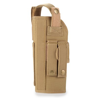 JINJULI Nylon Tactical PouchGun Holsters<br>JINJULI Nylon Tactical Pouch<br><br>Brand: JINJULI<br>Color: Black,Khaki<br>Package Contents: 1 x JINJULI Nylon Tactical Pouch<br>Package size (L x W x H): 31.00 x 14.00 x 2.00 cm / 12.2 x 5.51 x 0.79 inches<br>Package weight: 0.270 kg<br>Product size (L x W x H): 21.00 x 10.00 x 8.00 cm / 8.27 x 3.94 x 3.15 inches<br>Product weight: 0.237 kg