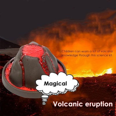 DIY Volcanic Eruption Experimental Device Educational Toy