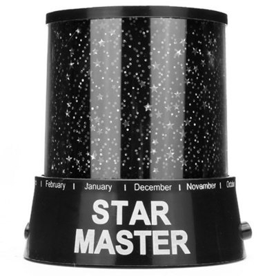 Фотография Amazing Sky Star Laser Projector Lamp Starry Night Light Powered by AA Battery