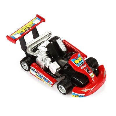 1:32 Realistic Alloy Kart Model with Sound Effect Pull-back Function
