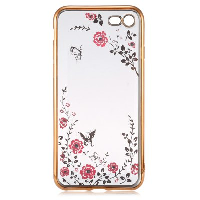 Electroplated TPU Soft Phone Back Case for iPhone 7