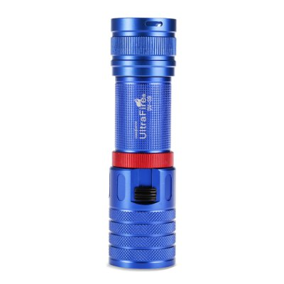 UltraFire DV - S9 LED Dive LightLED Flashlights<br>UltraFire DV - S9 LED Dive Light<br><br>Battery Quantity: 1 (not included)<br>Battery Type: 26650, 18650<br>Beam Distance: 150-200m<br>Body Material: Aluminium Alloy<br>Brand: Ultrafire<br>Color Temperature: 7000-7500K<br>Emitters: Cree XM-L2<br>Emitters Quantity: 1<br>Feature: Tail Stand, Lightweight, Lanyard, Infinitely Variable Brightness<br>Function: Walking, Night Riding, Household Use, Hiking, EDC, Diving, Camping<br>Lumens Range: &gt;1000Lumens<br>Luminous Flux: 1200LM<br>Model: DV-S9<br>Package Contents: 1 x UltraFire DV-S9 LED Flashlight, 1 x Lanyard<br>Package size (L x W x H): 15.50 x 5.00 x 5.00 cm / 6.1 x 1.97 x 1.97 inches<br>Package weight: 0.207 kg<br>Power Source: Battery<br>Product size (L x W x H): 13.50 x 3.80 x 3.80 cm / 5.31 x 1.5 x 1.5 inches<br>Product weight: 0.162 kg<br>Reflector: Aluminum Smooth Reflector<br>Waterproof Standard: IPX-8 Standard Waterproof (Underwater 30m)<br>Working Voltage: 3.7-4.2V
