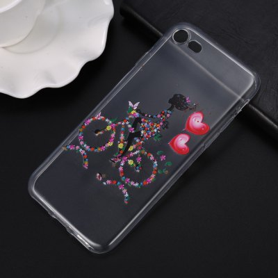 Colored Drawing TPU Soft Phone Back Case for iPhone 7