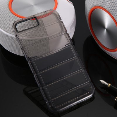 TPU Soft Transparent Phone Back Case for iPhone 7 Plus