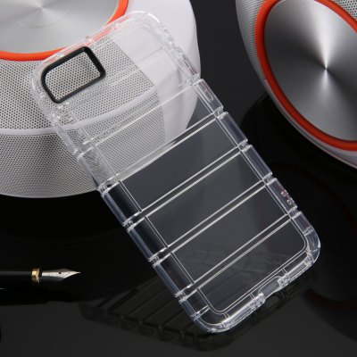 TPU Soft Transparent Phone Back Case for iPhone 7