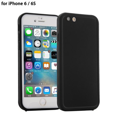 Ultra-thin Sillicone Water Resistant Phone Cover Case for iPhone 6 / 6S