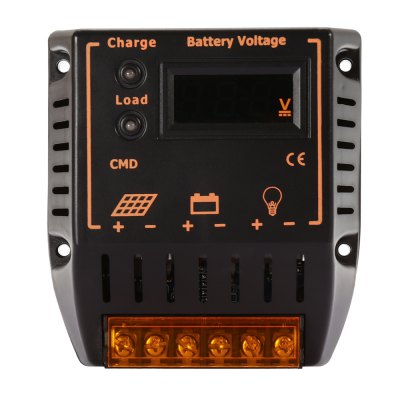 UEIUA CMD - 2420 12V 20A Intelligent Solar Charger Controller