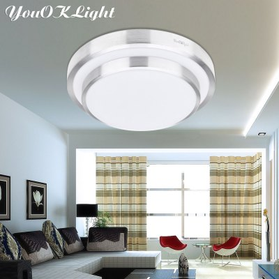 YouOKLight 12W SMD 5730 Smart Flush Mounted LED Ceiling Lamp